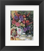 Framed Victorian Bouquet II
