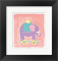 Elephant Toy Framed Print