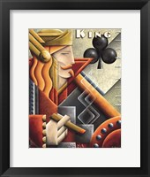 King Cigar Club Framed Print