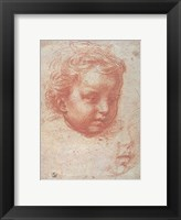Framed Head of a Child