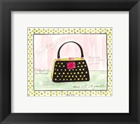 Too Dottie Framed Print