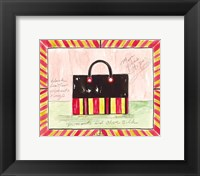 More Yikes Stripes Framed Print