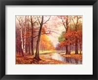 Framed Autumn Glade