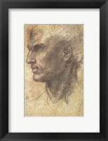 Framed Head of an Apostle