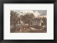 American Homestead Autumn Framed Print