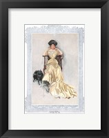 Fashion Modes - Yellow Framed Print