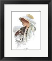 Fashion Modes - Bonnet Framed Print