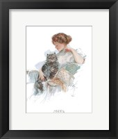 Fashion Modes - Persian Cat Framed Print