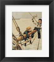 Framed Jolly Little Sailor
