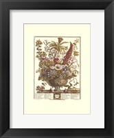 December/Twelve Months of Flowers, 1730 Framed Print