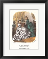 La Mode Illustree Framed Print