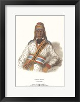 Yoholo-Micco, a Creek Chief Framed Print