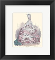 French Costumes Framed Print