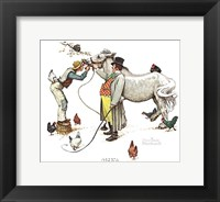 Horse Trader Framed Print