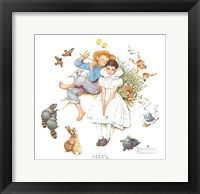 Sweet Song So Young Framed Print