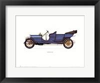 Lancia 1909 Framed Print