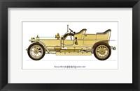 Rolls-Royce (Silver Ghost) 1907 Framed Print