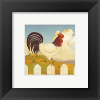 Country Crowers I Framed Print