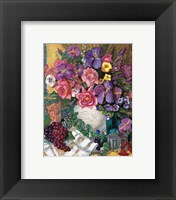 Framed Victorian Bouquet