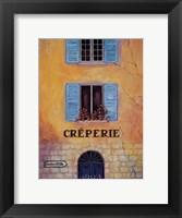 Creperie Framed Print
