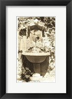 Fountain with Basin Framed Print