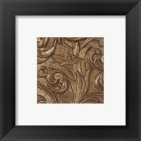 Framed Copper Lily Frieze