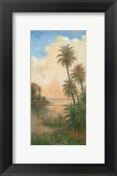 Framed Tropical Serenity I