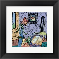 Tabletop Portrait Framed Print