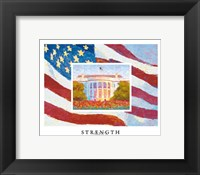 Strength Framed Print
