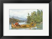 Framed American Hunting Scenes