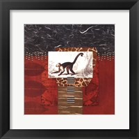 Savannah Monkey Framed Print