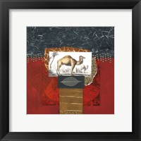 Savannah Camel Framed Print
