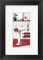 Collette's Vanity Framed Print