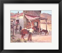Ghost Town Framed Print