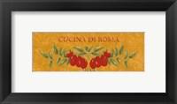 Cucina di Roma Framed Print