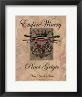 Empire Winery Framed Print