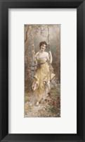 Framed Woodland Nymph