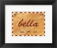 Framed Bella