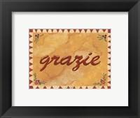 Framed Grazie