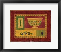 Tuscan Olives II Framed Print