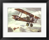 Framed Sopwith Camel, 1917