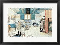 Framed Room of Mammy and the Small Girls