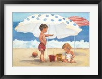 Framed Primary Sand Talk