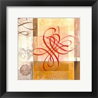 Arabesque VIII Framed Print