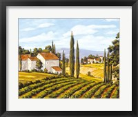 A View of the Valley - field Framed Print