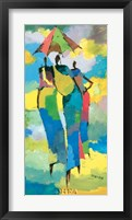 Framed Harar Woman I
