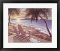 Coastal Crescendo Framed Print