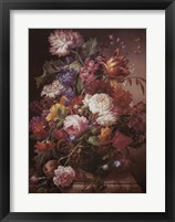 Grandmother's Bouquet I Framed Print