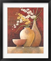 Asian Accents I Framed Print