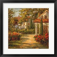 Framed Sunlit Path